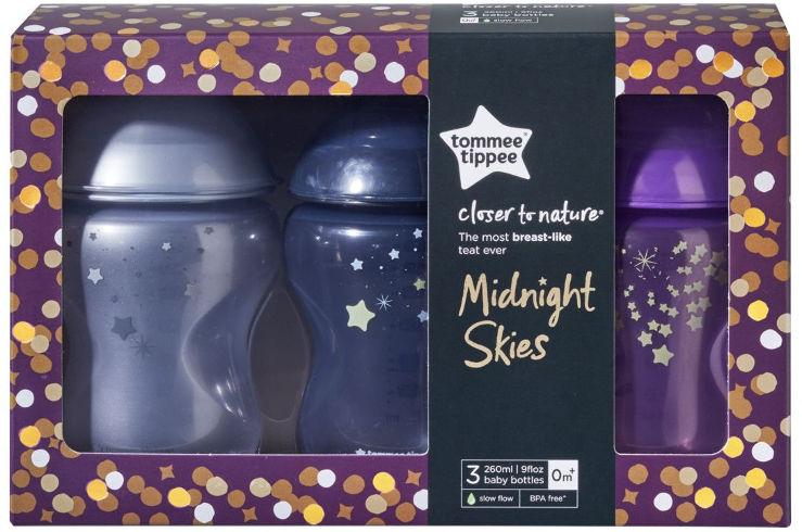 מארז בקבוקי הזנה לתינוק - לילה