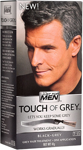 צבע שיער בגוון אפור לגברים