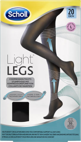 גרביונים 20 דנייר LIGHT LEGS צבע שחור L