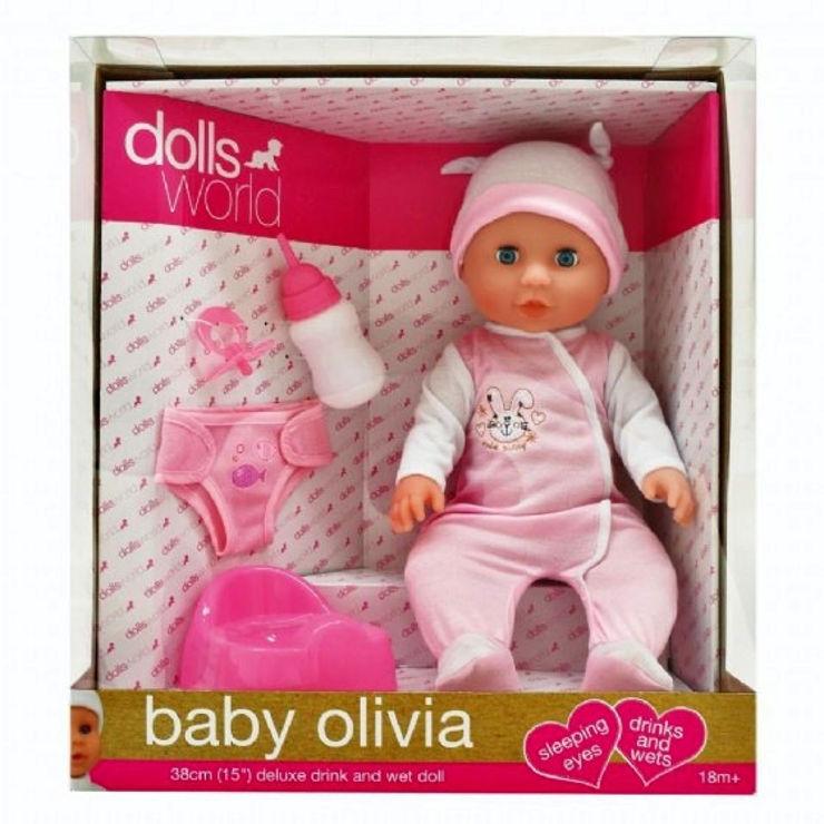 בובת תינוקת אוליביה עם אביזרים