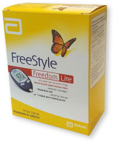 FREEDOM Lite מערכת לניטור של רמת הסוכר בדם