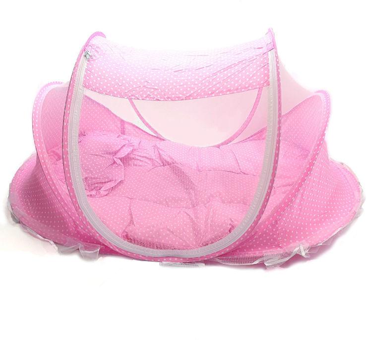 עריסת תינוק ניידת מתקפלת לבנות