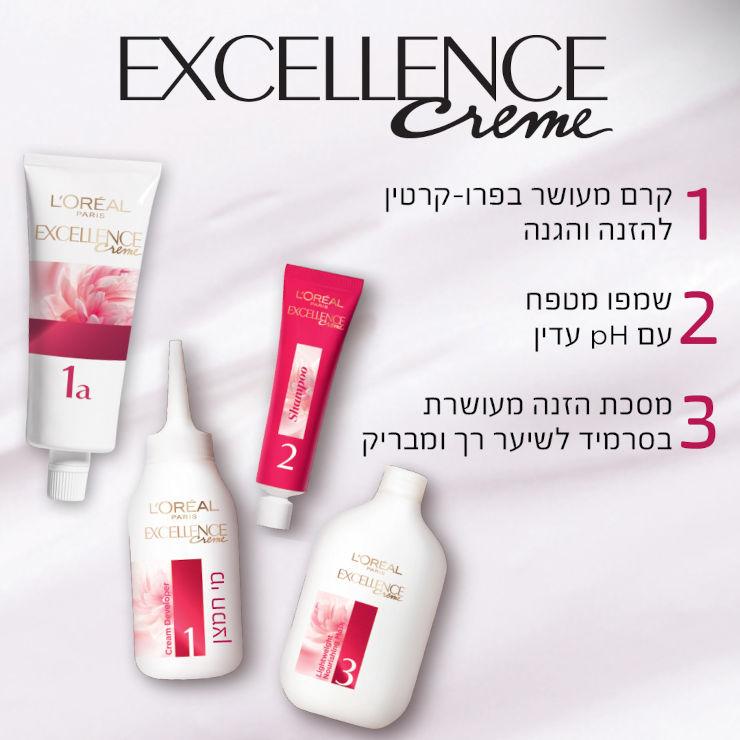 צבע שיער קבוע לטיפוח עשיר בגוון 4.54 חום מהגוני נחושתי