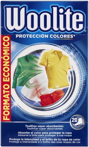 דפים למניעת העברת צבע למכונת כביסה