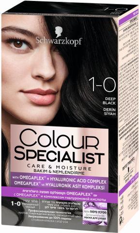 שוורצקופף קרם צבע שיער 1-0 שחור עשיר