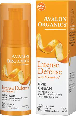 אבלון אורגניקס קרם עיניים ויטמין C