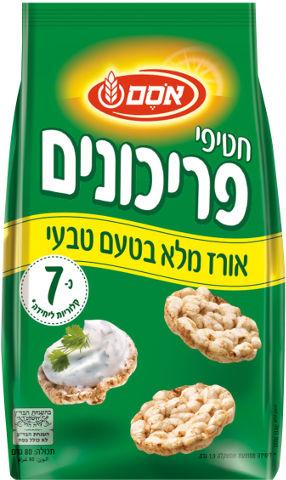 חטיפי אורז מלא בטעם טבעי