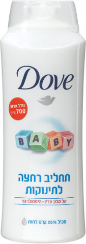 תחליב רחצה לתינוקות