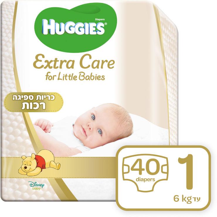 האגיס אקסטרה קר לרך הנולד מידה 1, למשקל עד 6 ק