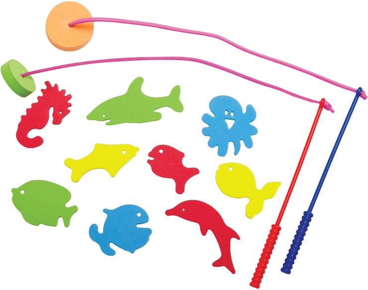 משחק דיג לילדים- דגים