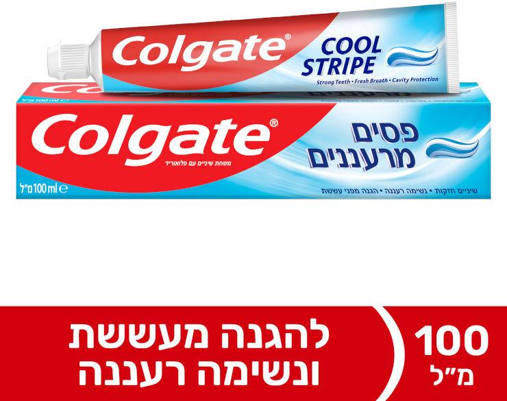 פסים מרעננים משחת שיניים ג'ל