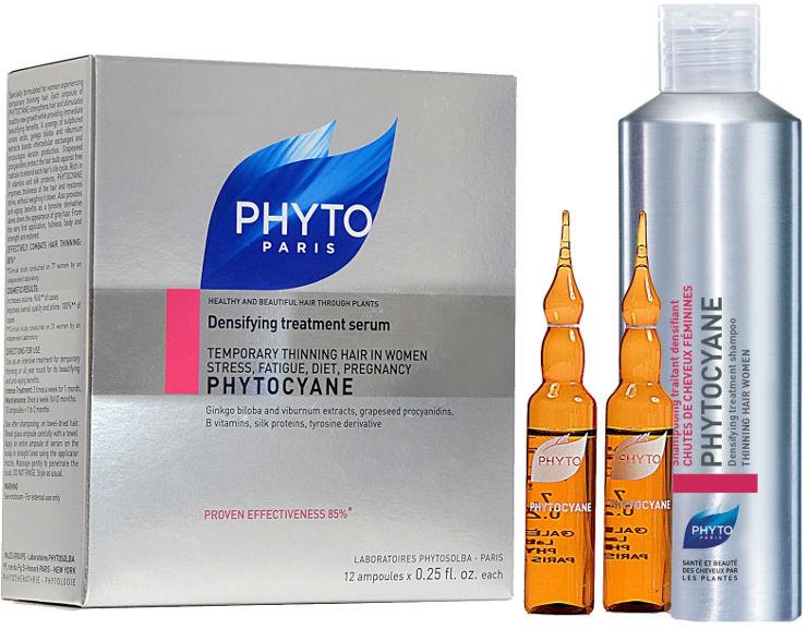 ערכת פיטוציאן לשיער דליל אמפולות עם סרום טיפולי לנשים