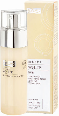 GENESIS WHITE קרם יום מבהיר לעור יבש - רגיל