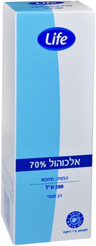 אלכוהול 70%