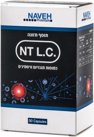NT L.C. כמוסות מגנזיום וויטמינים