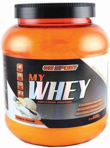 MY WHEY אבקת חלבון מתקדם בטעם וניל
