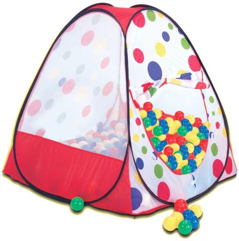 אוהל כדורים קסום שלי עם 100 כדורים