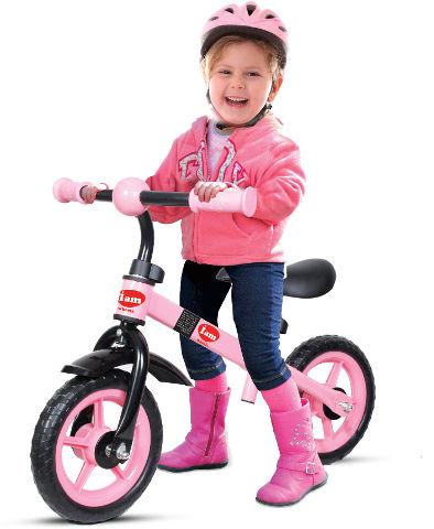 אופני איזון ורוד