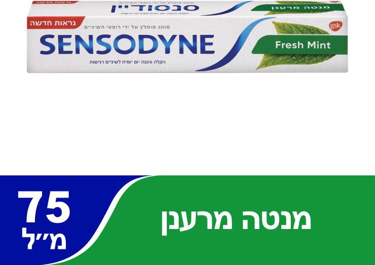 Fresh mint - משחת שיניים מנטה מרענן