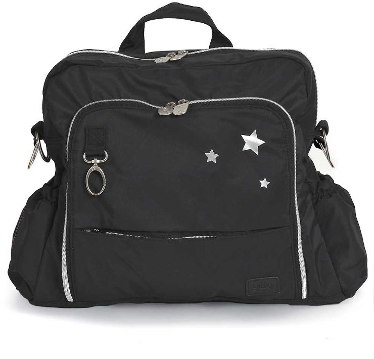 תיק החתלה ideal גיטה שחור 3 כוכבים