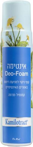 אינטימה DEO-FOAM קצף ניקוי למניעת ריחות