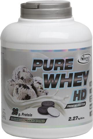 PURE WHEY HD פרימיום חלבון בטעם עוגיות