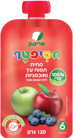 מחית תפוח עץ ואוכמניות