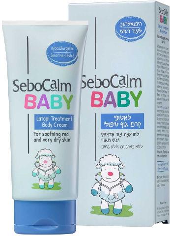 BABY לאטופי קרם גוף טיפולי