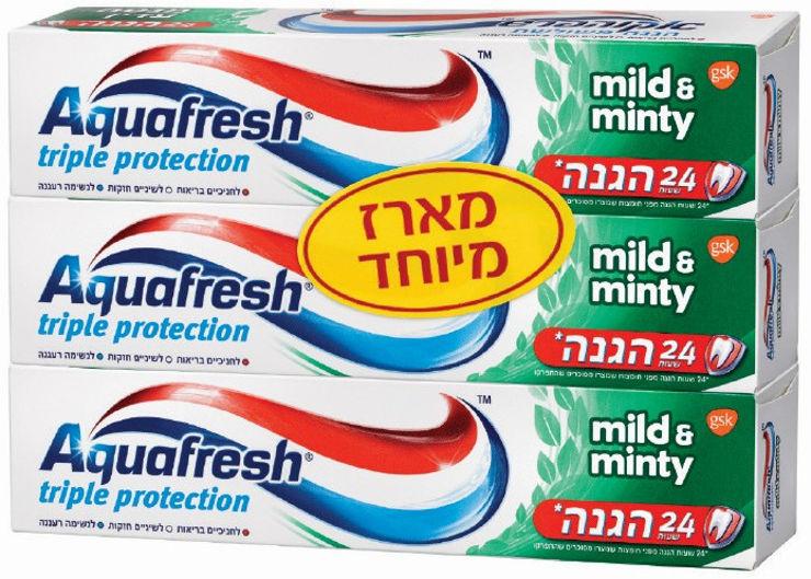 משחת שיניים מנטה עדין-ירוק