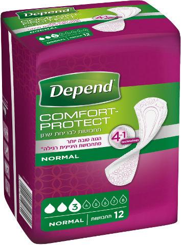 Comfort-protect תחבושות לבריחת שתן נורמל