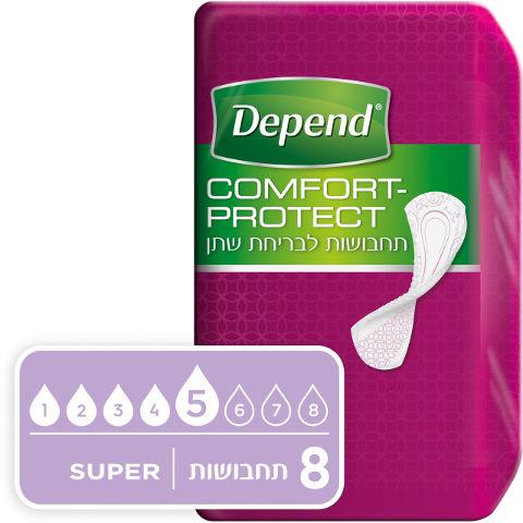 Comfort-protect תחבושות לבריחת שתן סופר
