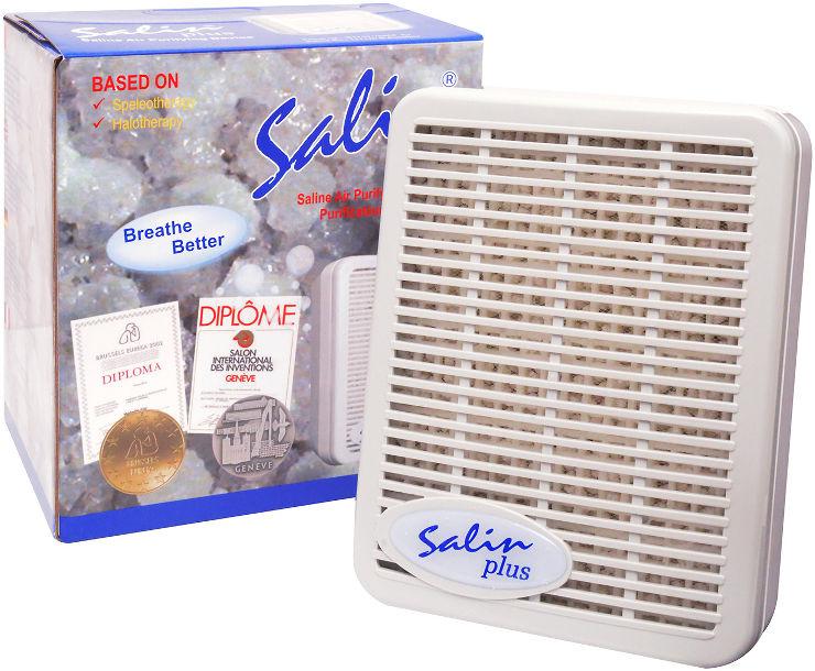 מכשיר מלח טיפולי Salin Plus