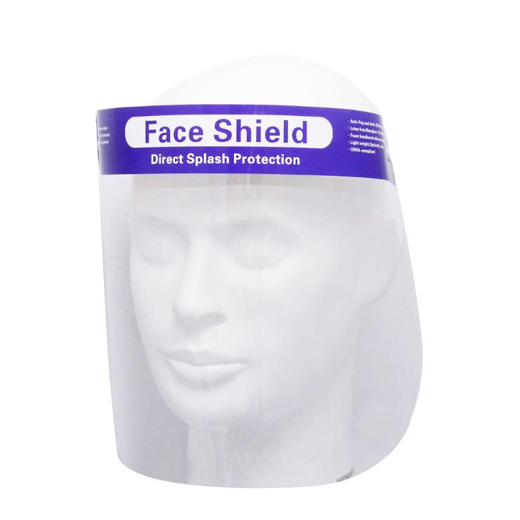 מגן פנים שקוף