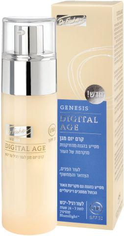 GENESIS DIGITAL AGE קרם יום מגן לעור רגיל-יבש SPF30