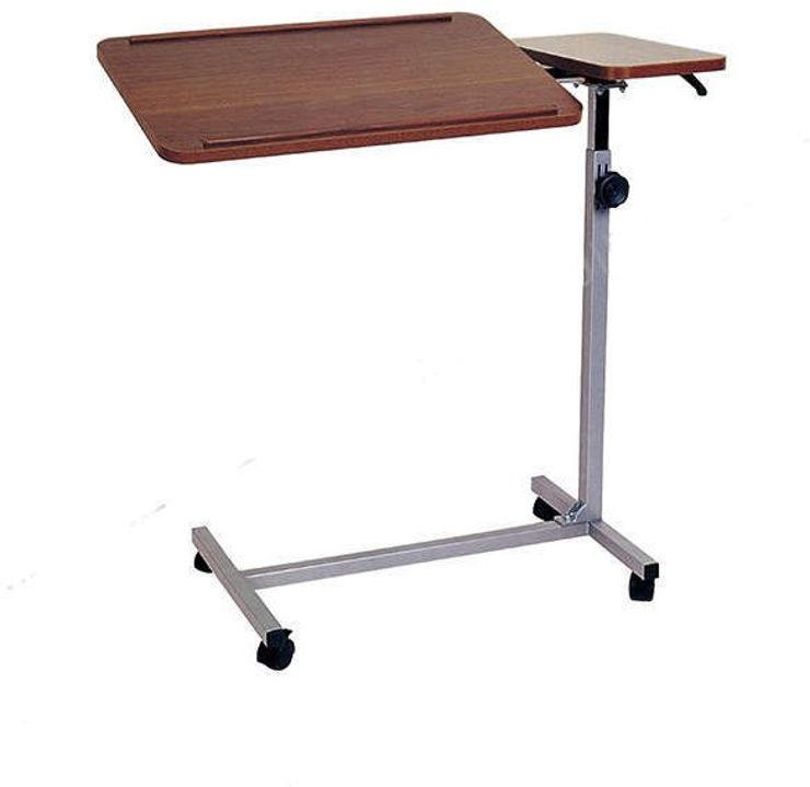 שולחן מתכוונן על גלגלים