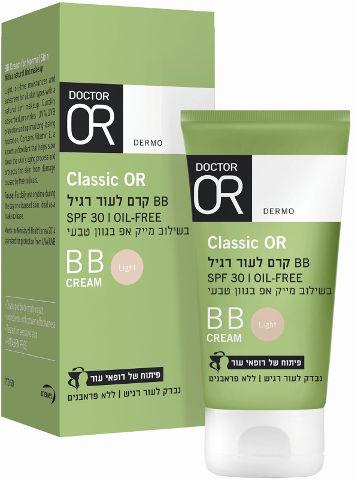 CLASSIC-OR קרם  BB  לעור רגיל בגוון לייט  SPF30