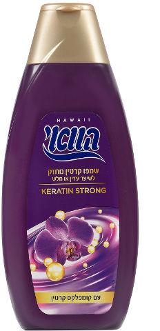 שמפו קרטין מחזק לשיער עדין או חלש