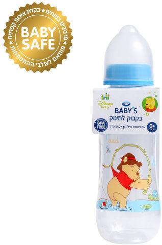 BABYS בקבוק צר ללא ביספינול 0+