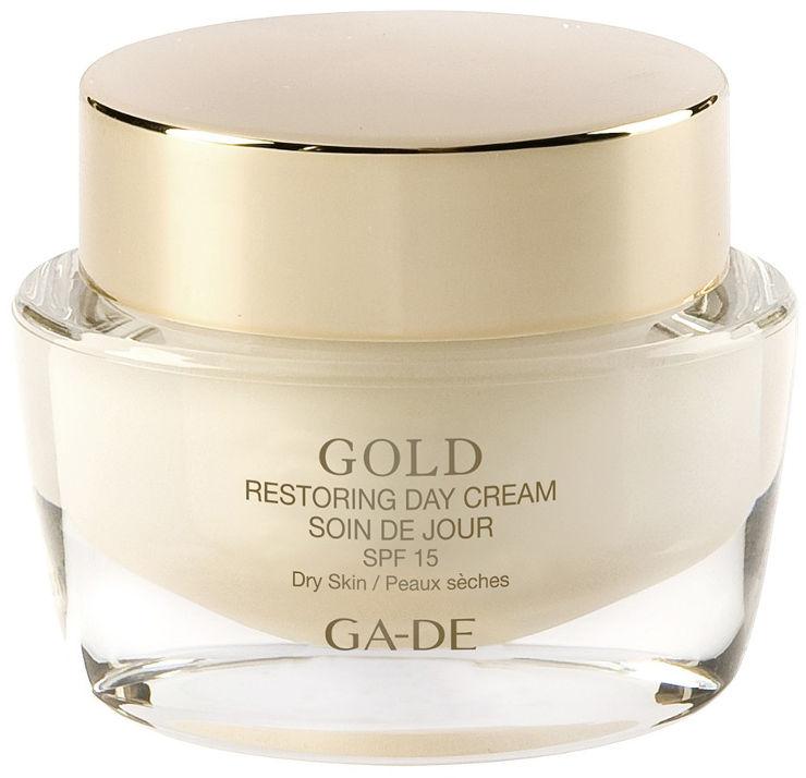 GOLD RESTORING קרם יום לעור יבש