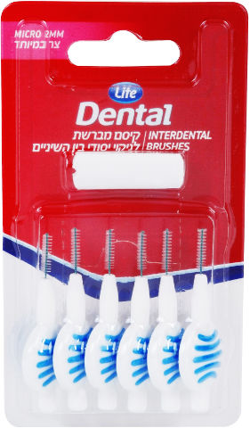 Dental קיסם מברשת לניקוי יסודי בין השיניים מיקרו צר במיוחד