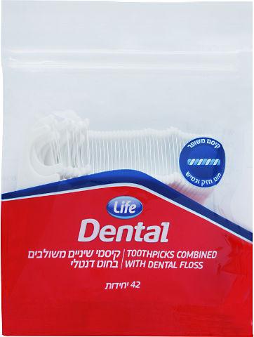 Dental קיסם משולב רגיל משופר