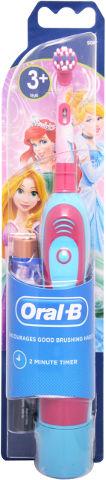 מברשת שיניים חשמלית סוללות לילדים - נסיכות