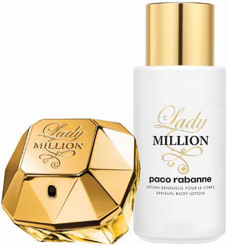 Lady MILLION סט א.ד.פ + קרם גוף לאשה