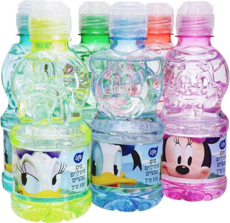 מים מינרלים טבעיים לילדים בדמויות דיסני 0.330 ליטר
