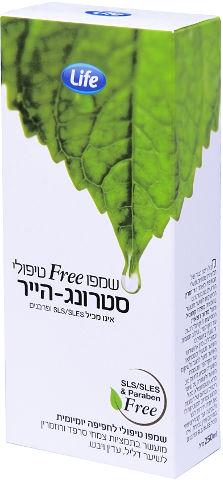 שמפו FREE טיפולי סטרונג-הייר