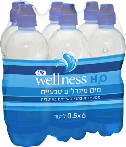 Wellness מים מינרליים טבעיים
