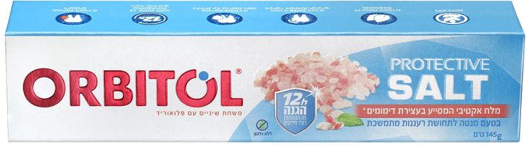 משחת שיניים PROTECTIVE SALT