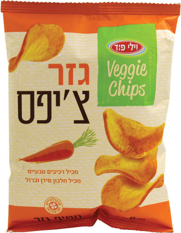 VEGGIE CHIPS גזר צ'יפס