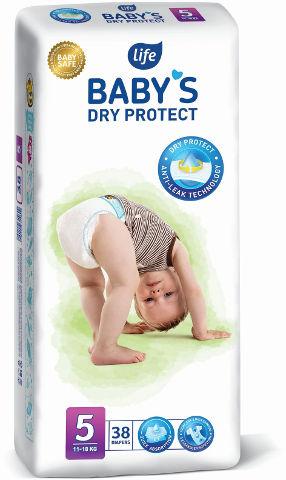 BABYS חיתולים 5 DRY PROTECT