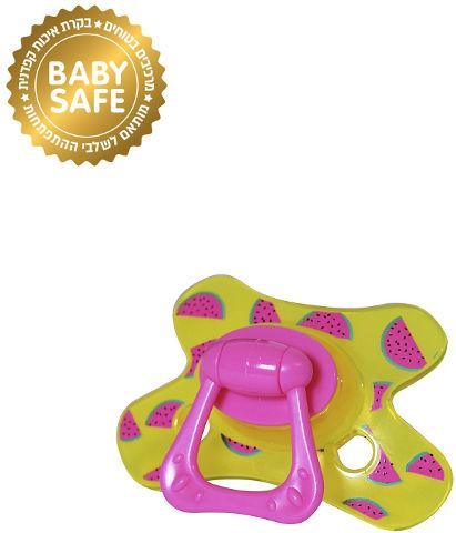 BABYS מוצץ בנות 6+ חודשים